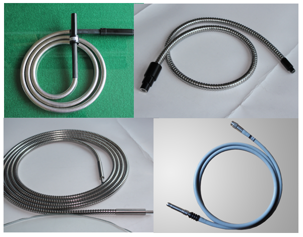 Single Branch Fiber Optic Light Guide